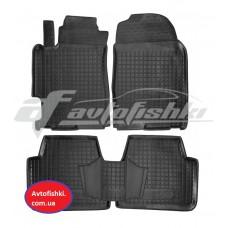 Резиновые коврики в салон для Mazda 6 2002-2008 Avto-Gumm