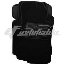 Коврики ворсовые в салон для Acura TSX 2008-... черные, Украина