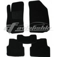 Коврики текстильные для Audi A4 `00-08 Черные