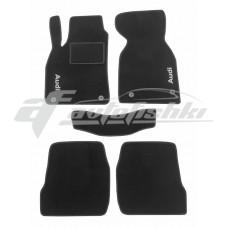 Коврики ворсовые в салон для Audi A6 1997-2005 черные, Украина