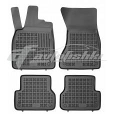 Коврики в салон резиновые для Audi A6 IV 2011-2019 Rezaw-Plast