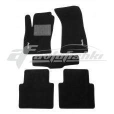 Коврики текстильные в салон для Audi A8 2002-2010 черные, Польша