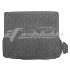Резиновый коврик в багажник для Audi Q5 2008-2017 Avto-Gumm
