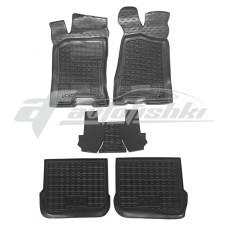 Резиновые коврики в салон для Audi 80 B4 1991-1996 Avto-Gumm