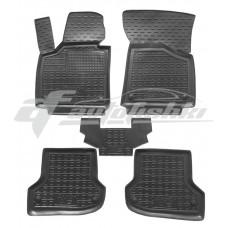 Резиновые коврики в салон для Audi A3 2003-2012 Avto-Gumm