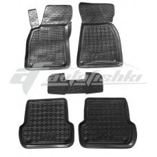 Резиновые коврики в салон для Audi A4 B6/B7 2000-2007 Avto-Gumm