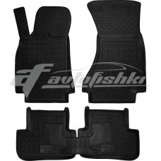 Резиновые коврики в салон для Audi A5 (B8) Sportback 2009-... Avto-Gumm