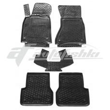 Резиновые коврики в салон для Audi A6 C7 2011-2019 Avto-Gumm