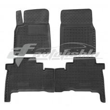 Резиновые коврики в салон для Toyota Land Cruiser 300 2021-... Avto-Gumm