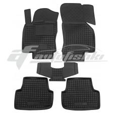 Резиновые коврики в салон для Volkswagen Golf VIII 2020-... Avto-Gumm