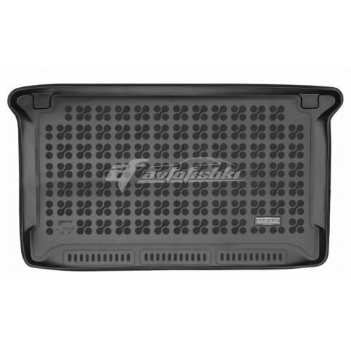 на фотографии коврик в багажник резиновый для BMW I3 с 2013 года черного цвета от Rezaw-Plast