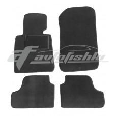 Коврики ворсовые в салон для BMW 3 E93 Cabrio 2007-... черные Vena (велюр)