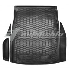 Резиновый коврик в багажник для BMW 5 E60 Sedan (седан) 2003-2010 Avto-Gumm