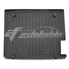 Резиновый коврик в багажник для BMW X3 (F25) 2010-2017 Avto-Gumm