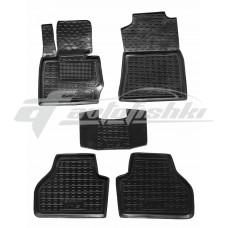 Резиновые коврики в салон для BMW X3 F25 2010-2017 Avto-Gumm
