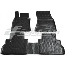 Резиновые коврики в салон для BMW X5 F15 2013-2018 Avto-Gumm