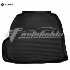 Резиновый коврик в багажник на Cadillac CTS II 2007-2014 Novline (Element)