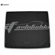 Резиновый коврик в багажник на Cadillac Escalade IV (длинный) 2014-2020 Novline (Element)