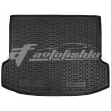Резиновый коврик в багажник для Chery Tiggo 7 Pro (с запаской) 2020-... Avto-Gumm