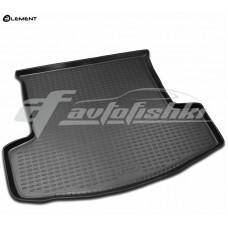 Резиновый коврик в багажник на Chevrolet Captiva 2006-2011 Novline (Element)