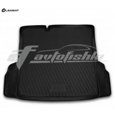 Резиновый коврик в багажник на Chevrolet Cobalt 2013-2015 Novline (Element)