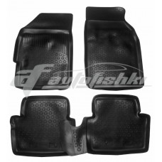 Резиновые коврики на Chevrolet Spark III 2009-2018 Lada Locker