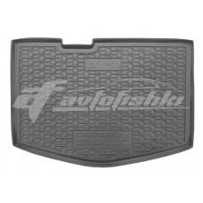 Резиновый коврик в багажник для Chevrolet Bolt (нижняя полка) 2016-... Avto-Gumm