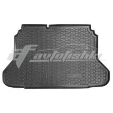 Резиновый коврик в багажник для Chevrolet Lacetti Hatchback '2003-... Avto-Gumm