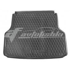 Резиновый коврик в багажник для Chevrolet Lacetti Wagon (универсал) 2003-... Avto-Gumm