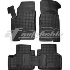 Резиновые коврики в салон для Chevrolet Niva 2010-... Avto-Gumm