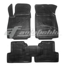 Резиновые коврики в салон для Chevrolet Tracker 2013-... Avto-Gumm