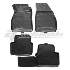 Резиновые коврики на Chevrolet Malibu VIII 2011-2016 Lada Locker