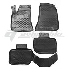 Резиновые коврики в салон на Chrysler 300C 2012-... Novline (Element)