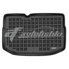 Коврик в багажник резиновый для Citroen C3 II (запаска) 2009-2016 Rezaw-Plast