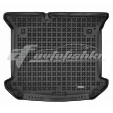 Коврик в багажник резиновый для Citroen C8 2002-2014 Rezaw-Plast