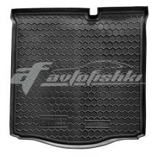 Резиновый коврик в багажник для Citroen C-Elysee 2012-... Avto-Gumm