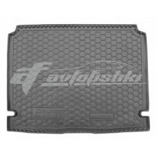 Резиновый коврик в багажник для Peugeot Partner 2008-2019 Avto-Gumm
