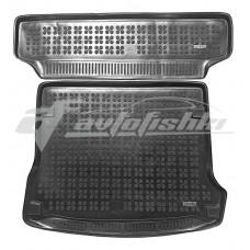 Коврик в багажник резиновый для Dacia Logan MCV / Kombi (универсал) (комплект с 2 штук) 2006-2013 Rezaw-Plast