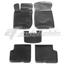Гумові килимки в салон для Dacia Logan Sedan (седан) 2004-2013 Avto-Gumm