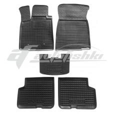 Резиновые коврики в салон для Dacia Logan MCV / Kombi (универсал) 2006-2013 Avto-Gumm