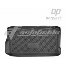 Резиновый коврик в багажник на Daewoo Matiz 1998-2015 Norplast