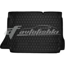 Резиновый коврик в багажник для Daewoo Lanos Hatchback (хэтчбек) 1997-... Avto-Gumm