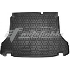 Резиновый коврик в багажник для Daewoo Lanos Sedan (седан) 1997-... Avto-Gumm