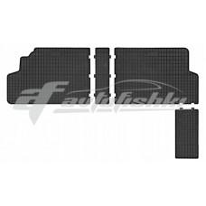 Коврики в салон резиновые Fiat Scudo II (второй ряд) 2007-2016 Frogum