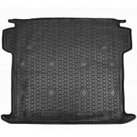 Резиновый коврик в багажник для Fiat Doblo II Maxi (5/7 мест) (длинная база) 2015-... Avto-Gumm