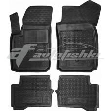 Резиновые коврики в салон для Fiat 500e 2013-... Avto-Gumm