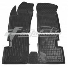 Резиновые коврики в салон для Fiat 500X 2014-... Avto-Gumm