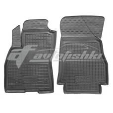 Резиновые коврики в салон для Fiat Doblo Cargo 2010-... Avto-Gumm
