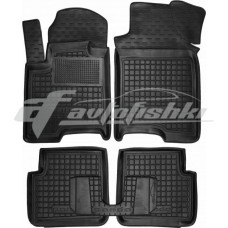 Резиновые коврики в салон для Fiat Panda 2012-... Avto-Gumm