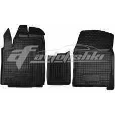 Резиновые коврики в салон для Fiat Scudo II (2,0) 2007-2016 Avto-Gumm